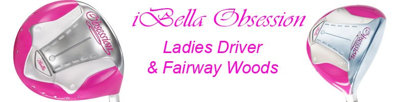 ibella obsession hot pink lady golf clubs