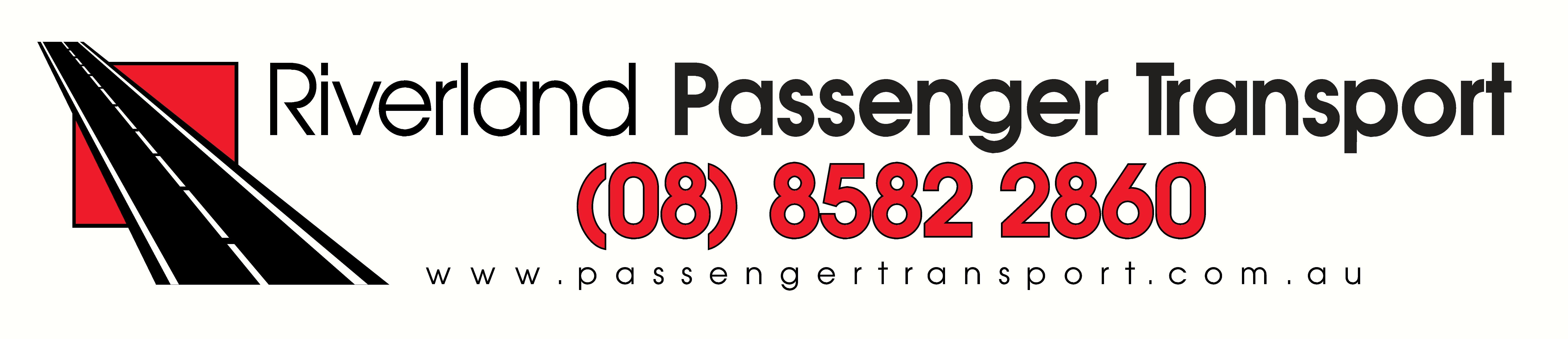 Riverland Passenger Transport Landscape Logo