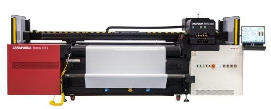una macchina da stampa