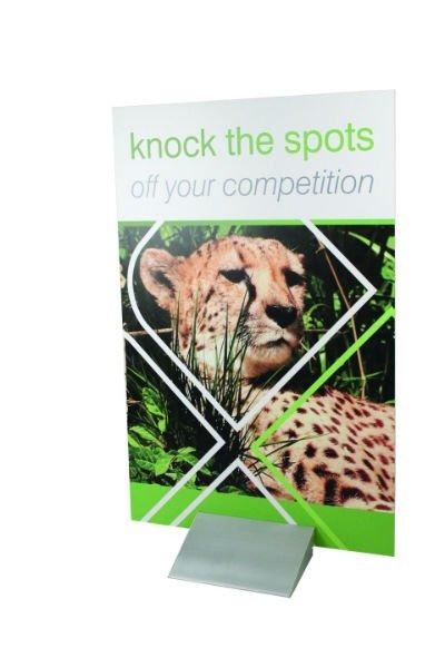 un catalogo con un leopardo e la scritta knock the spots off your competition