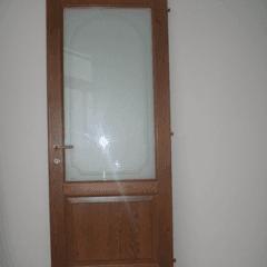 Porte interne con inserti in vetro