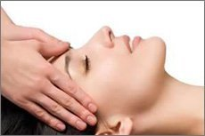 Face and hair massage