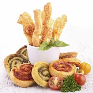 Pizzette e sfoglie salate