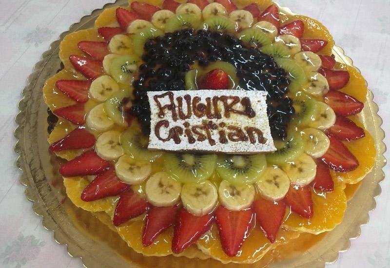 Torta alla frutta con gelatina