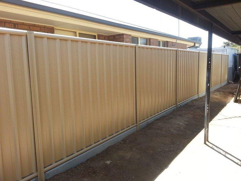 fence ezi plinth concrete sleepers
