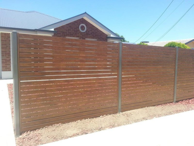 slat fencing shingle farm