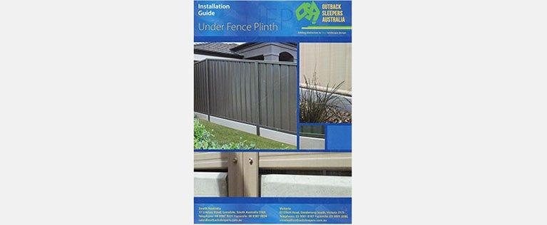 man vs fence colour bonds brochure