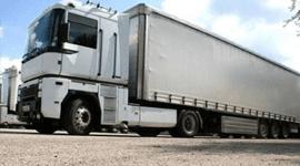 Trasporto merci, camion merci