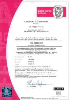 Sistema Certificato di Gestione della Qualità