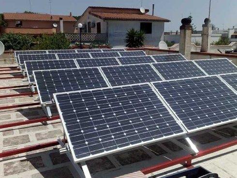 Impianto Fotovoltaico 4,5 kWp - civile abitazione