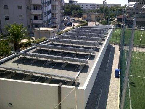 Impianto Fotovoltaico 17,10 kWp - Oratorio Chiesa