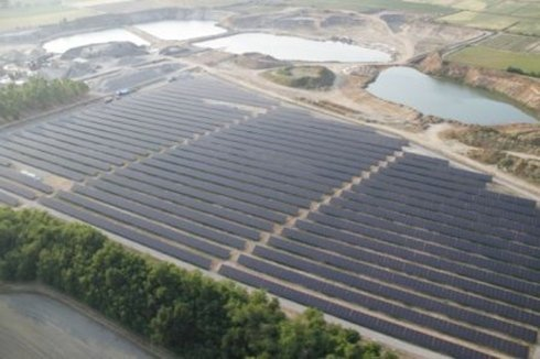 Impianto 2,4 MW  - cava esaurita