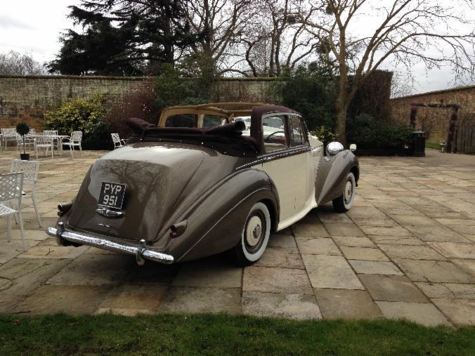 a vintage car