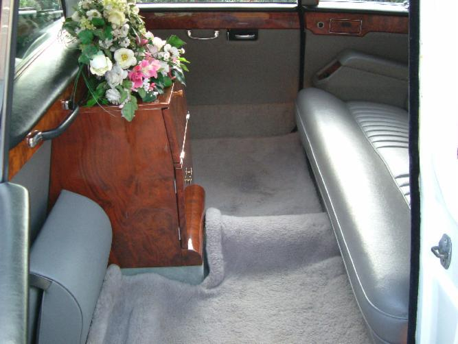 a wedding car