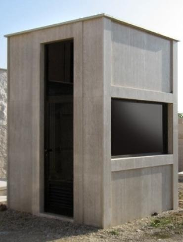 Cappella funebre in stile moderno