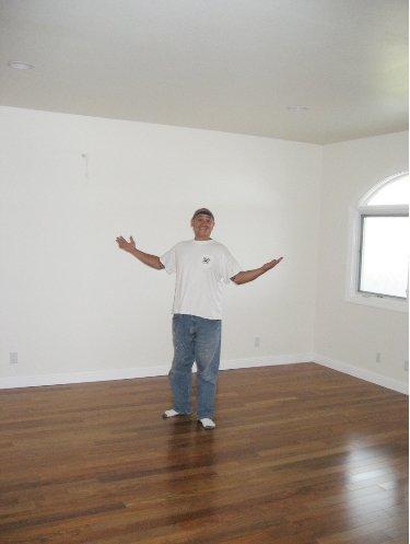 Room after being renovated in Honolulu, HI