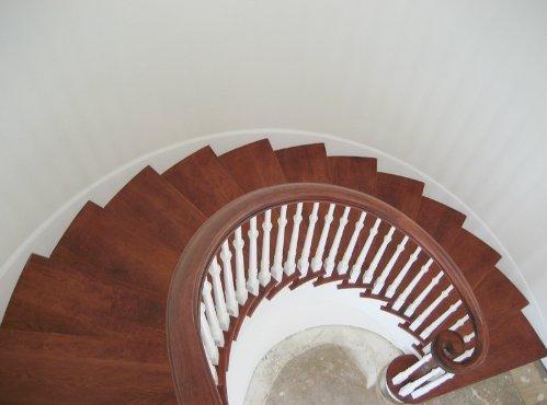 Staircase renewed by renovation builder in Honolulu, HI