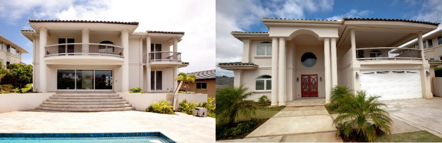 Beautiful house built by expert building contractor in Honolulu, HI