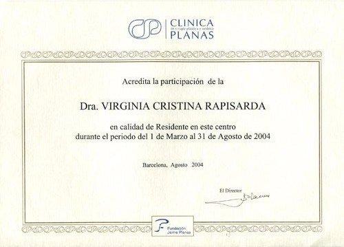 corso internazionale chirurgia plastica ed estetica tenuto a Barcellona