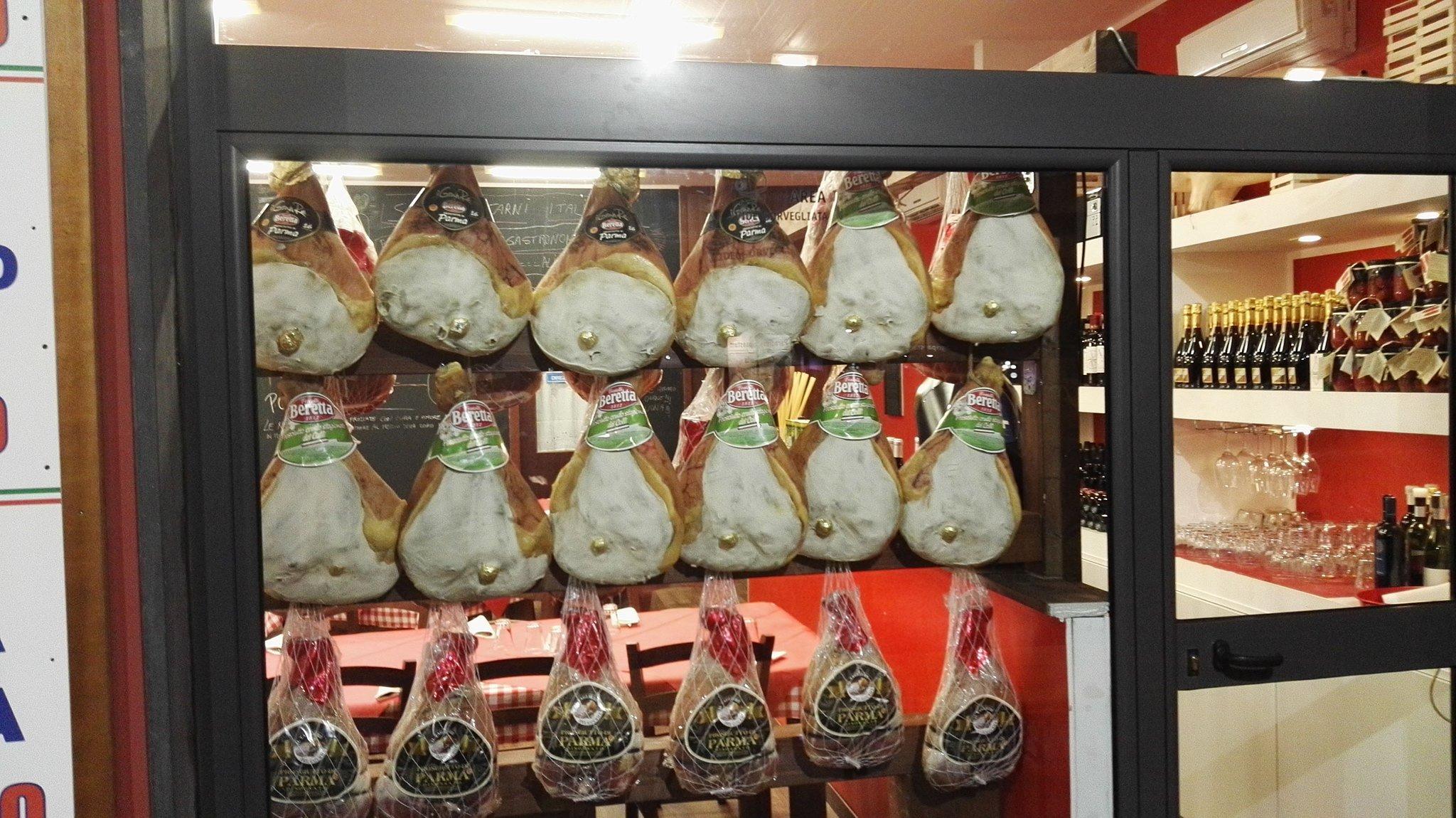 dei tranci di carne della marca Beretta