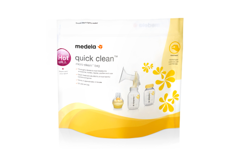 medela cleaning bags