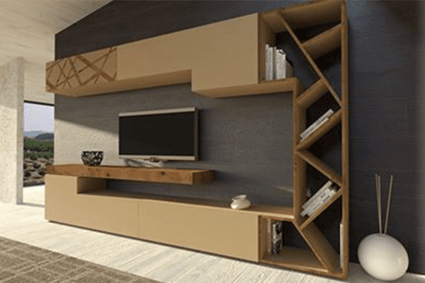 pareti attrezzate e divani