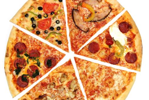 Tante pizze fantasiose con gusti mai visti.