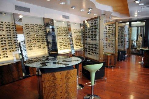 espositori occhiali