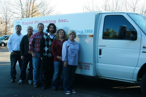 Family owned and operated Rapid Plumbing in Lexington, KY