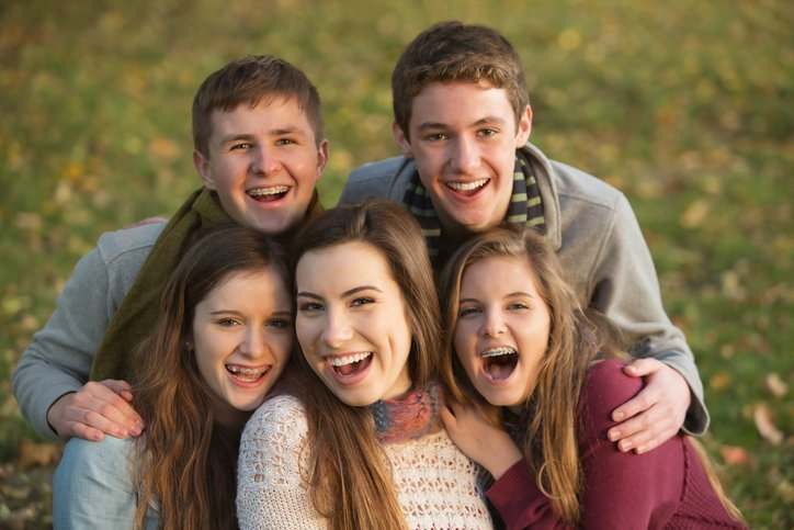 children of various ages with braces - Boca Raton & Coral Springs - Cohen Orthodontics