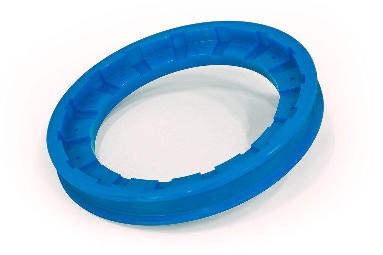 plastiche blu