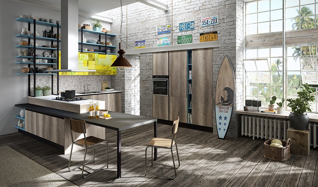 cucina moderna aran