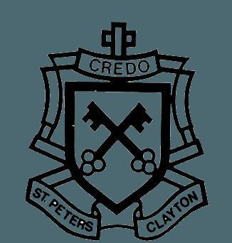 St Peter's Primary School Clayton logo
