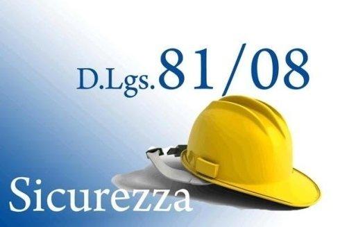Sicurezza, d.lgs. 81/08, Rieti
