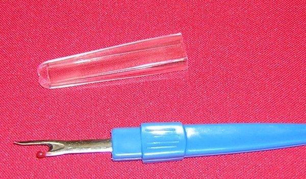 Taglia asole grandi azzurro