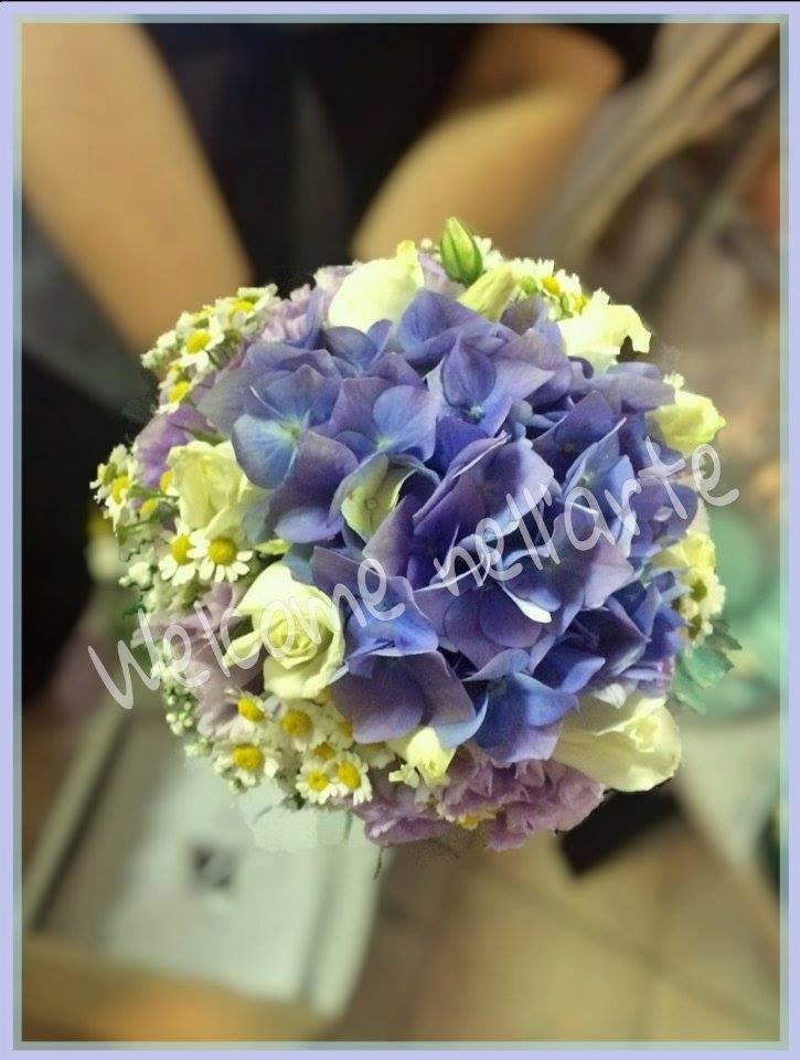 bouquet sposa ortensie
