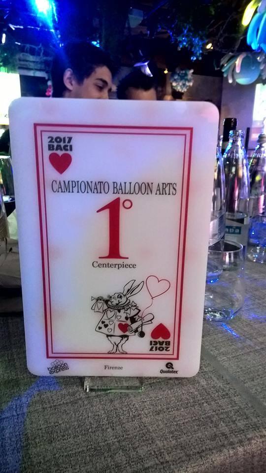 1° premio per campionato di Balloon Arts