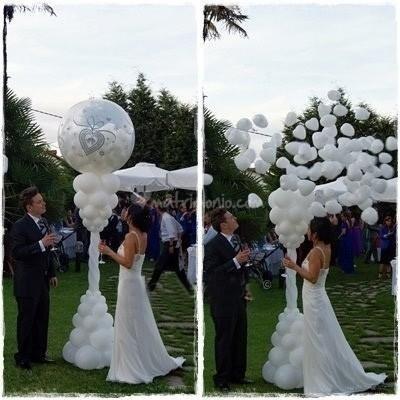 palloncino ripieno di palloncini
