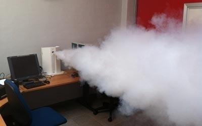 Dimostrazioni impianti nebbiogeni