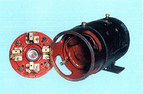 Forklift traction motors
