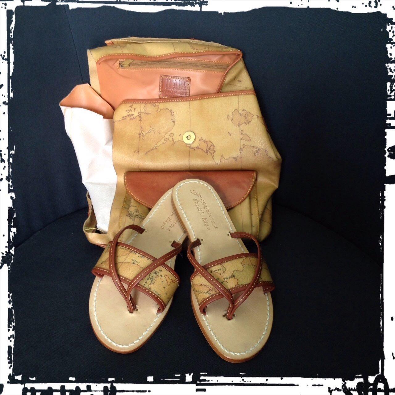 scarpe e borsa abbinati