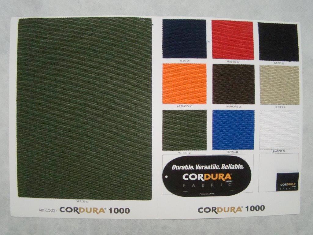 cartella colore cordura