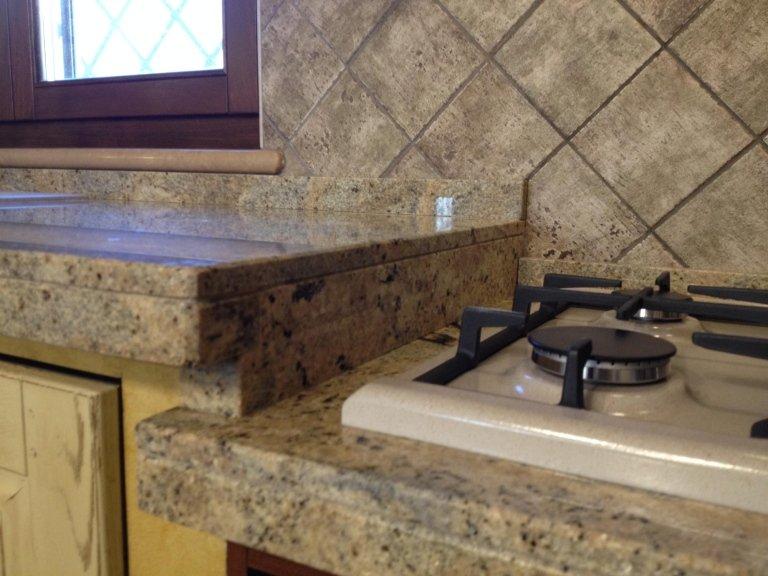 Prodotti su misura roma idea marmo - Piano cucina granito ...