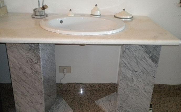 Prodotti su misura roma idea marmo - Bagno piano marmo ...