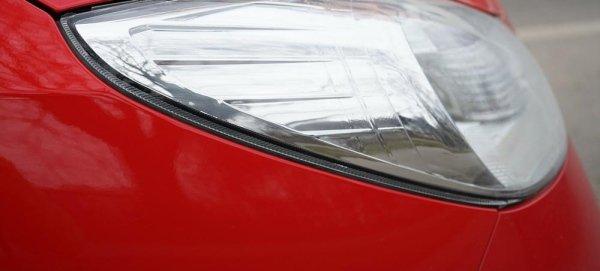 Faro auto rossa