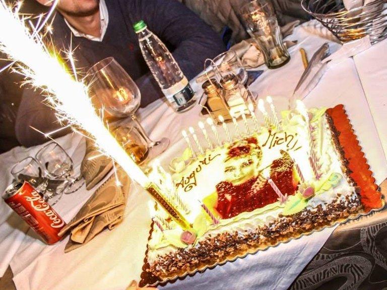torta speciale per compleanno