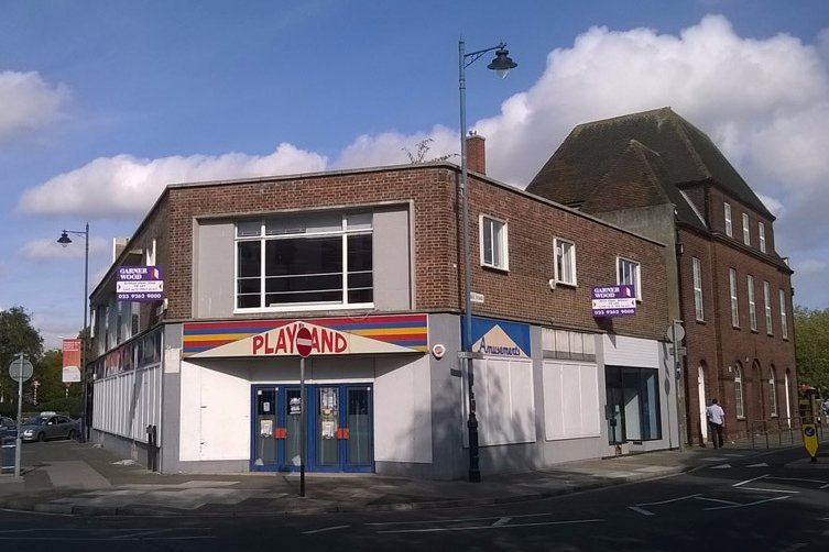 Retail properties along City Buildings Commercial Road Portsmouth