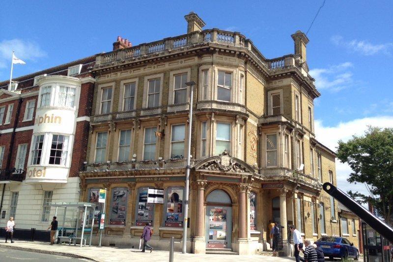 Retail properties in High Street Southampton