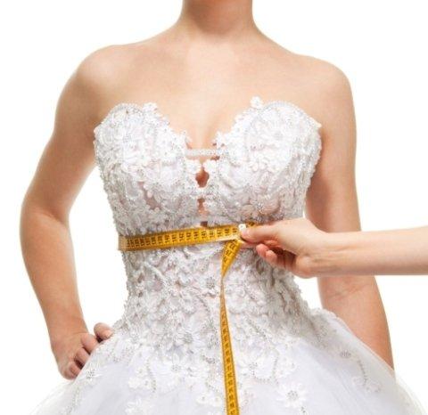 rimessa a modello abiti da sposa