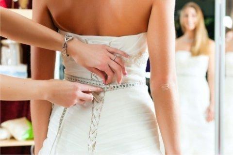 riparazioni abiti da sposa